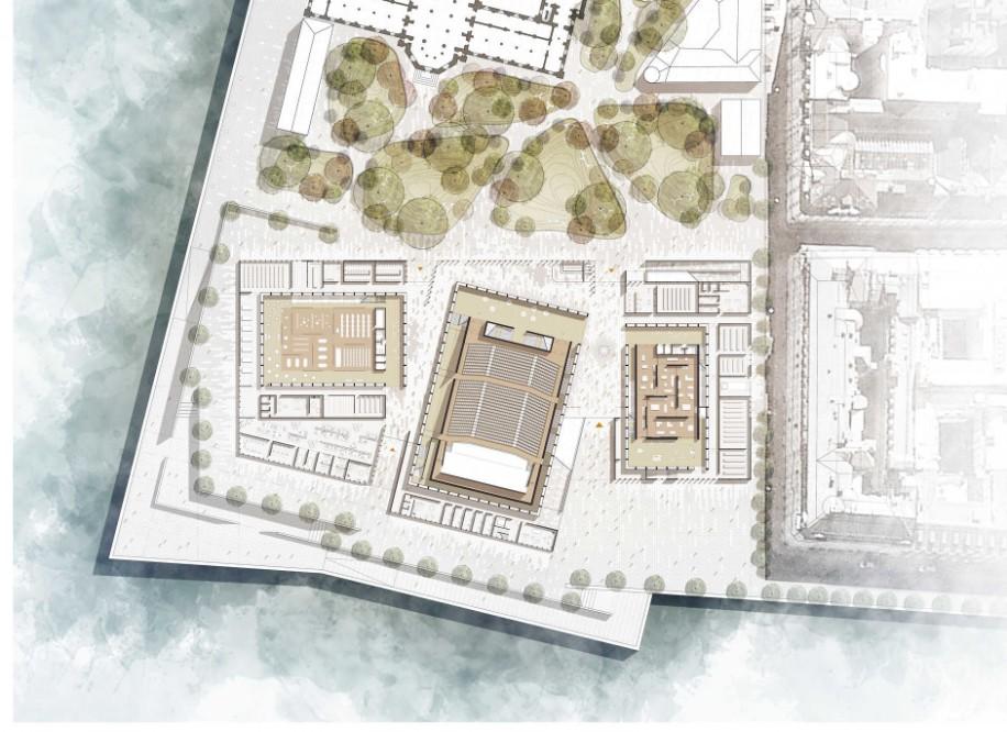 stockholm nobel centre lotoarchilab. Black Bedroom Furniture Sets. Home Design Ideas